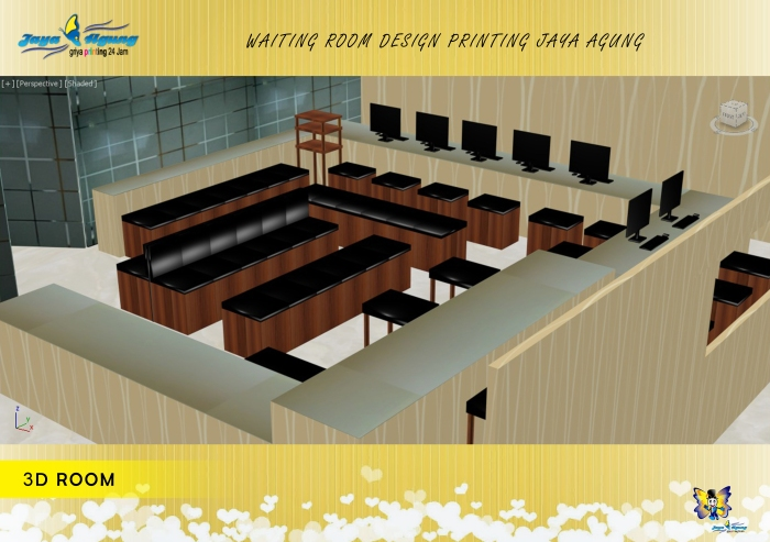5. DESAIN 3D ROOM TAMPAK DALAM  JAYA AGUNG